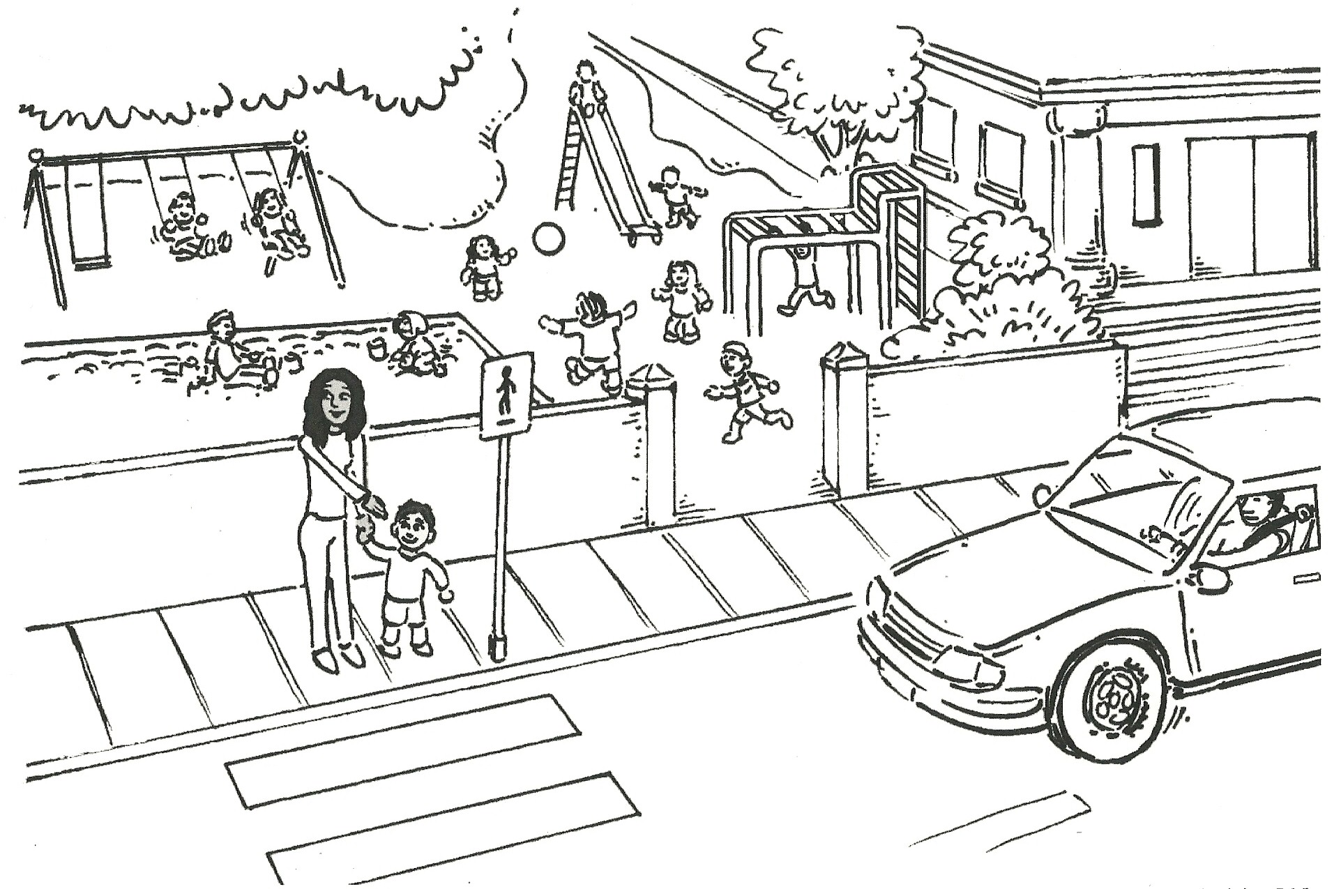 Colouring sheets for road safety - Get Free High Quality Hd Wallpapers Coloring Pages Of Zebra Crossing